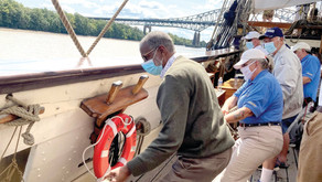Legislators take an educational trip on the Delaware