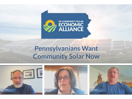 In New Video Series, Pennsylvanians Urge State Lawmakers to Pass Community Solar Legislation
