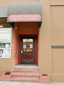 Sound Holistic Health Clinic Street Entrance