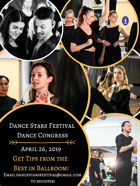 Dance Stars Festival Dance Congress Apri