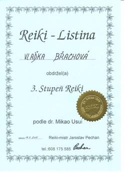 Usui Reiki III.