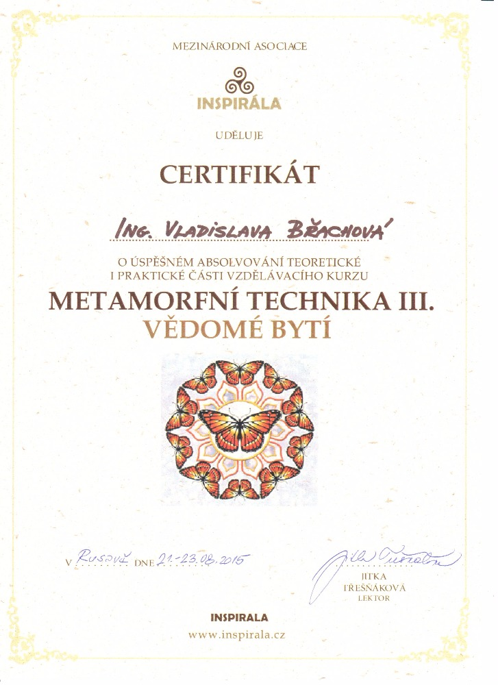 Metamorfní technika 3