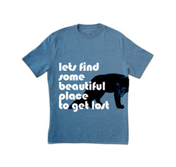 Blue Lost T-Shirt