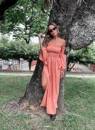 Vestido Athena Goiaba