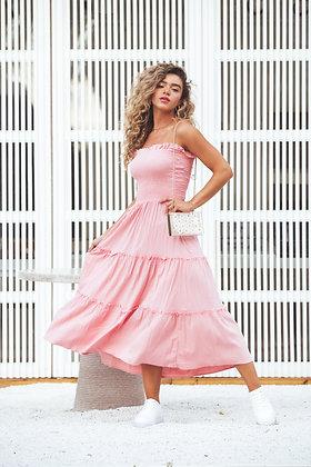 Vestido Energia Rosa