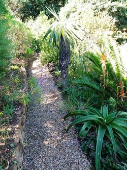Paths for steep banks