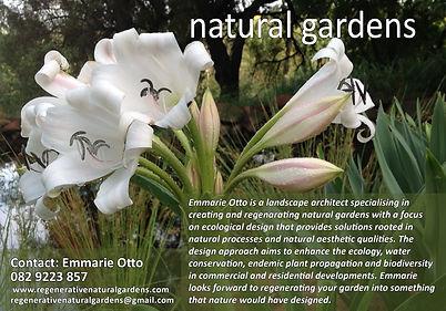 natural gardens landscaper