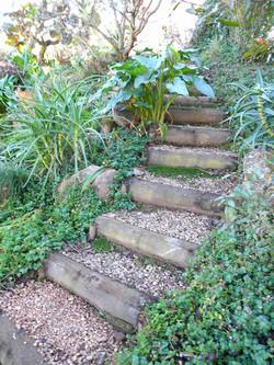 Steep Slope Steps