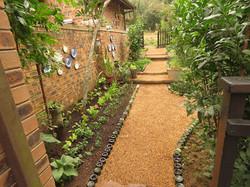 Narrow Side-yard Paths