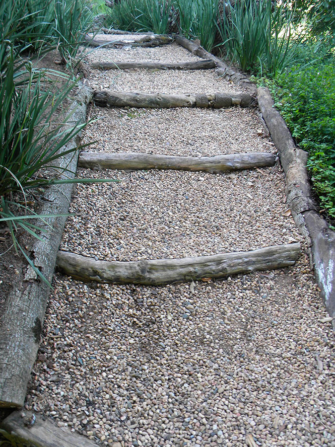 Recycled Wooden Steps
