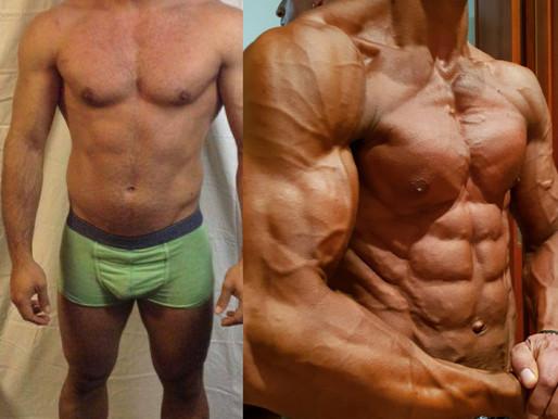Devo aumentar a minha massa muscular primeiro?  Ou secar? Quanto tempo preciso para cada fase?