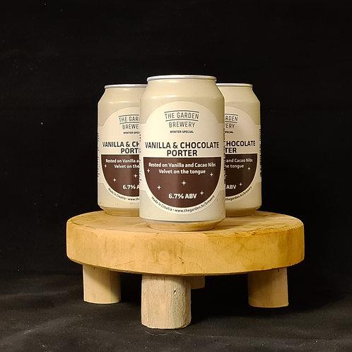 The Garden Brewer vanilla and chocolate porter