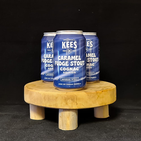 Kees, caramel fudge stout cognac edition