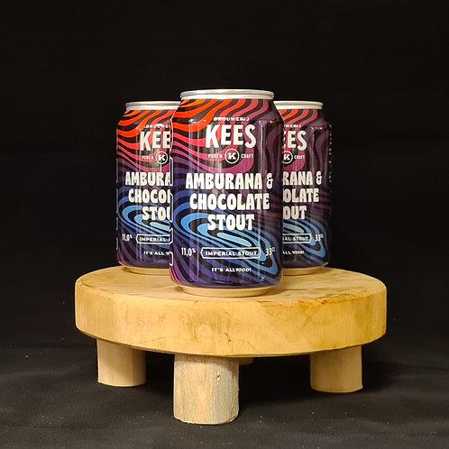 Kees, Amburana & Choclate Stout