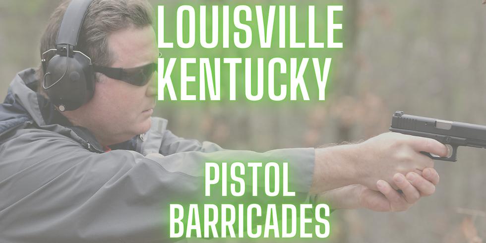Pistol - Barricade Firing