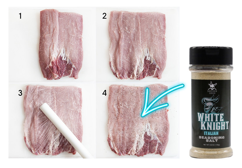 How to butterfly a pork loin