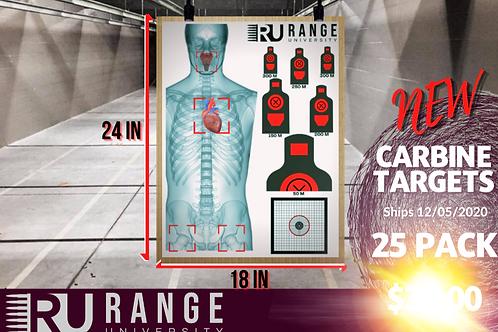 Carbine Target - 25 Pack