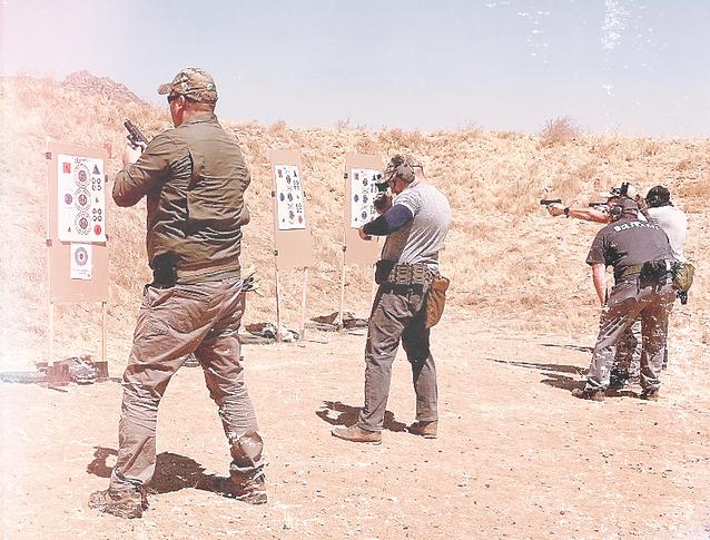 Team Desert Training