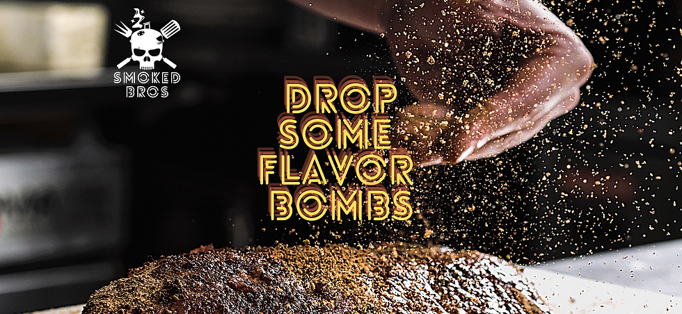 Drop Some Flavor Bombs   Premium Spices   Veteran Owned