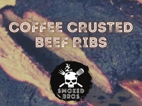 Coffee-Crusted BBQ Beef Ribs