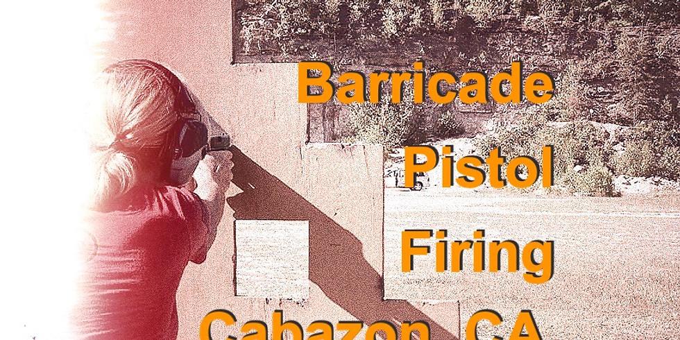 Pistol 210: Barricade Firing