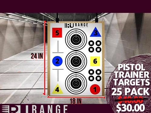 RU Pistol Trainer - 25 Pack