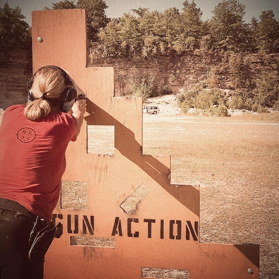 Cleveland Barricade Pistol Firing