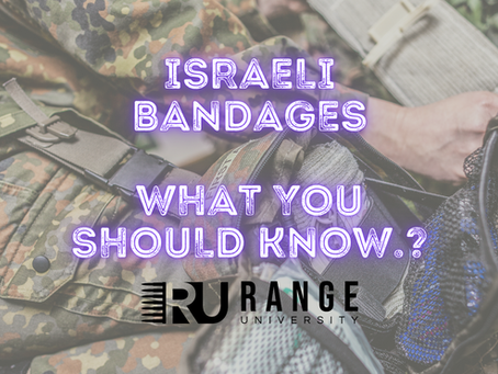Israeli Bandages... What You Should Know.
