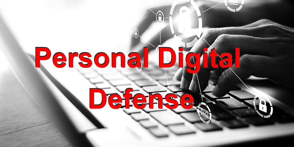 Personal Digital Defense Course (ONLINE)