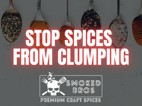 Stop Spices from Clumping