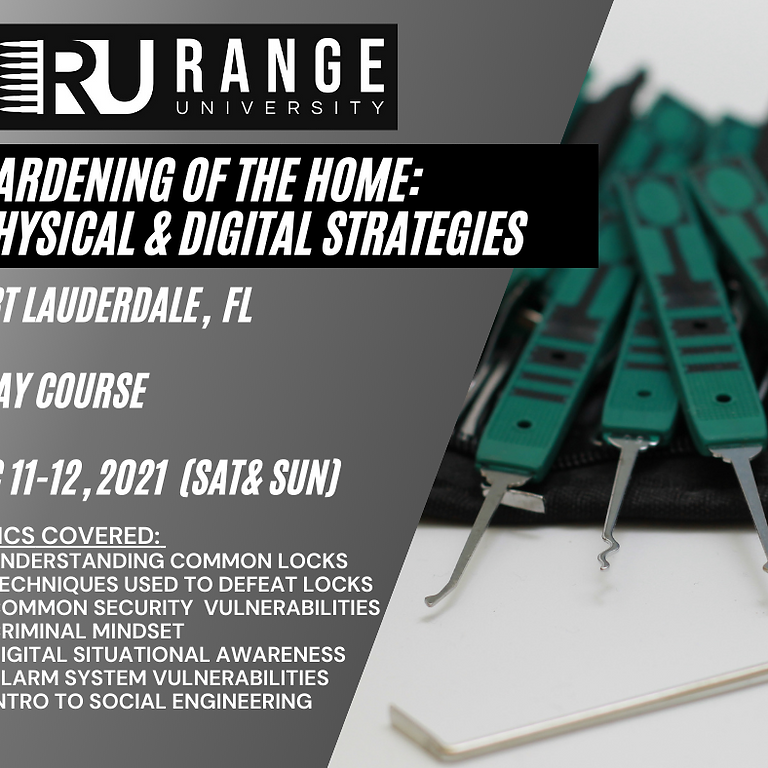 Hardening of the Home:  Physical & Digital Strategies