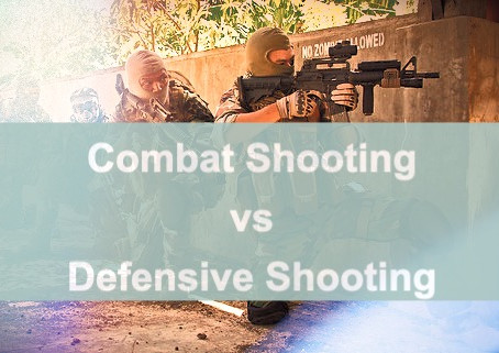 Combat Shooting Versus Defensive Shooting