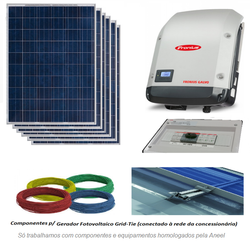 Kit Solar grid-tie