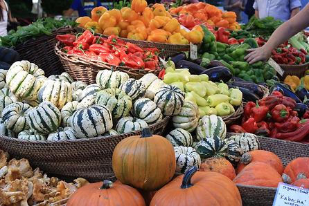 Autumn poduce at Portland Farmers Market