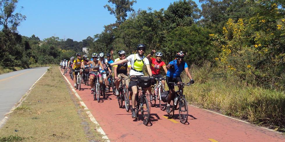 (20 km só asfalto) Piquenique de Abertura - Parque Ecológico do Tietê