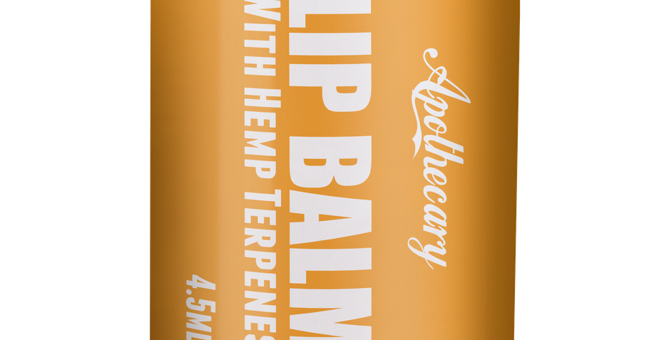 All Natural Lip Balm - Carrot Cake 4.5mL