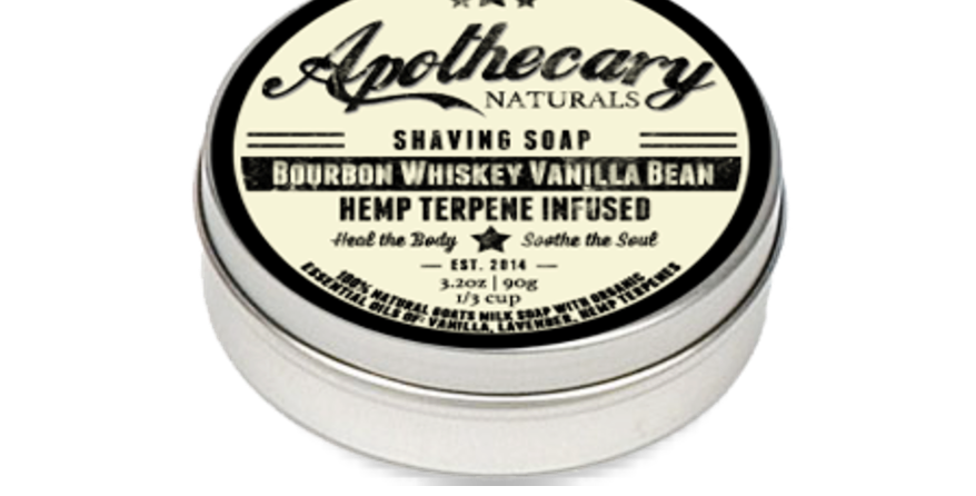 Shaving Soap - Bourbon Vanilla Bean - 3.2oz