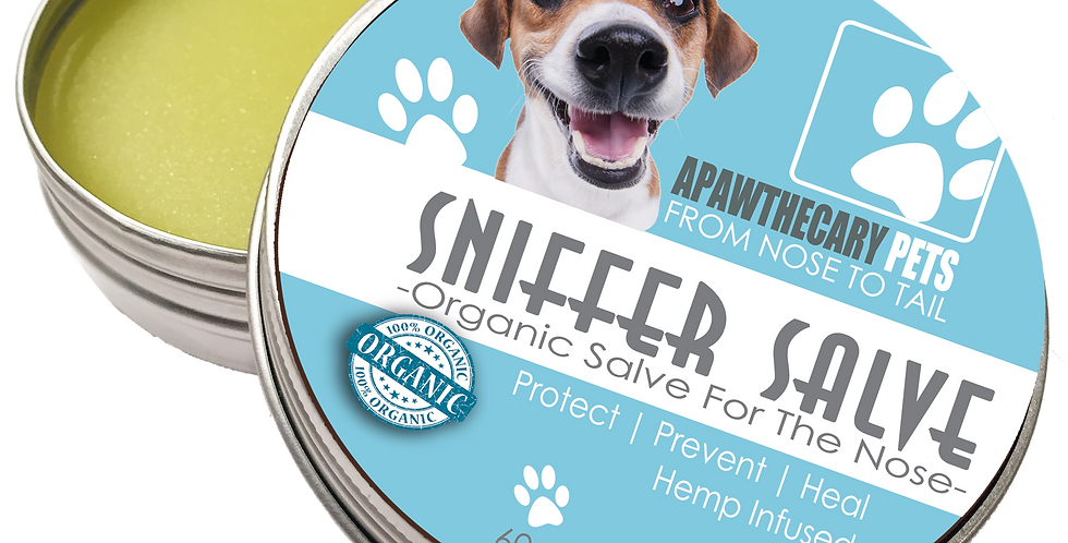CBD Pet Sniffer Salve-60mL