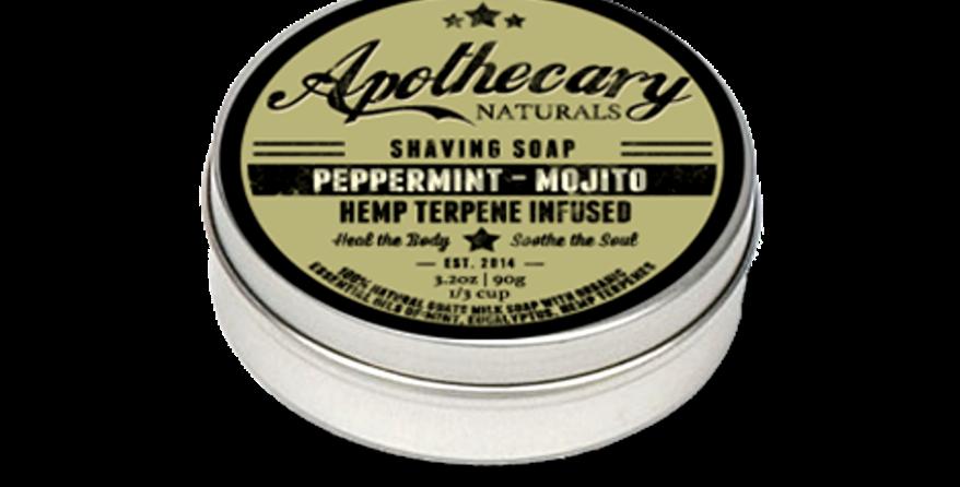 Shaving Soap - Peppermint Mojito - 3.2oz