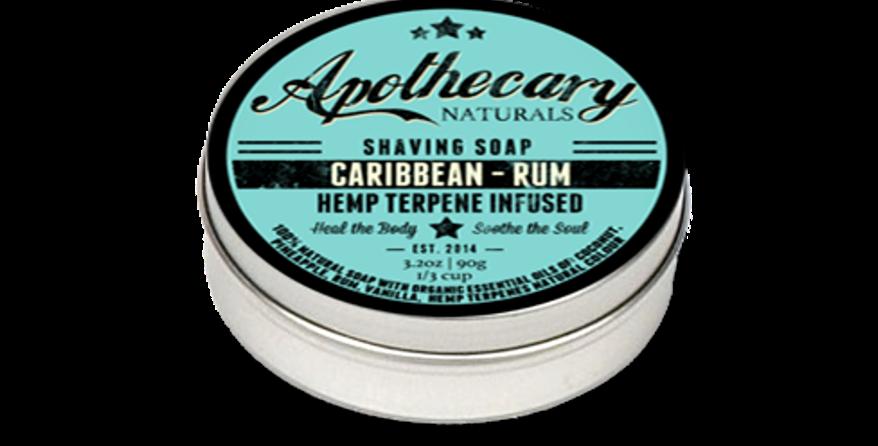 Shaving Soap - Caribbean Rum - 3.2oz