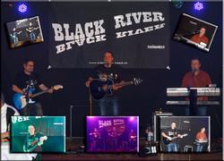 Black River light live on stage