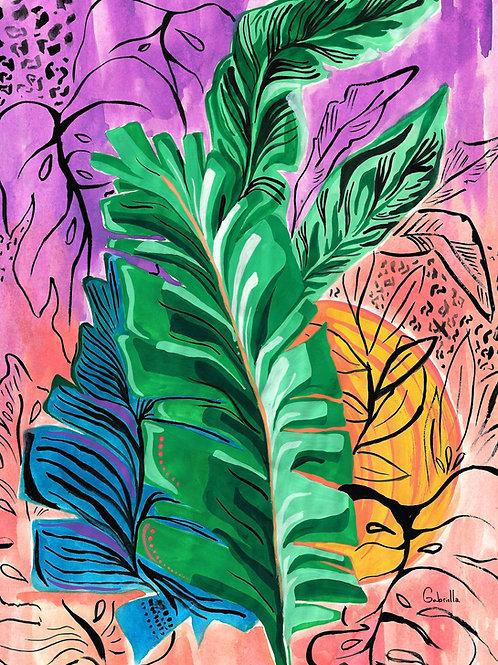 Tropical Lush Illustration