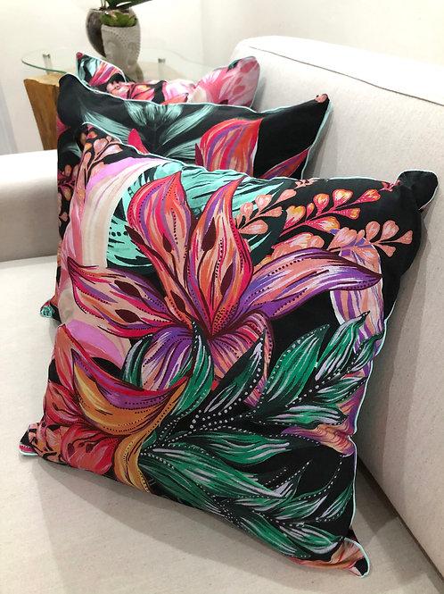 Midnight Bloom Pillow Case