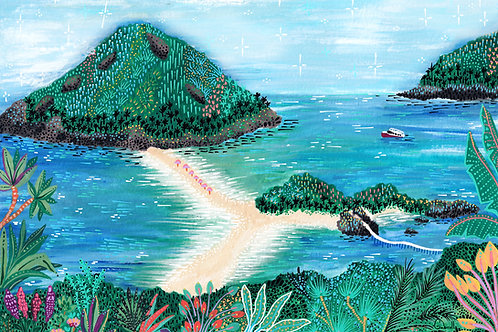 Ilustração Koh Tao
