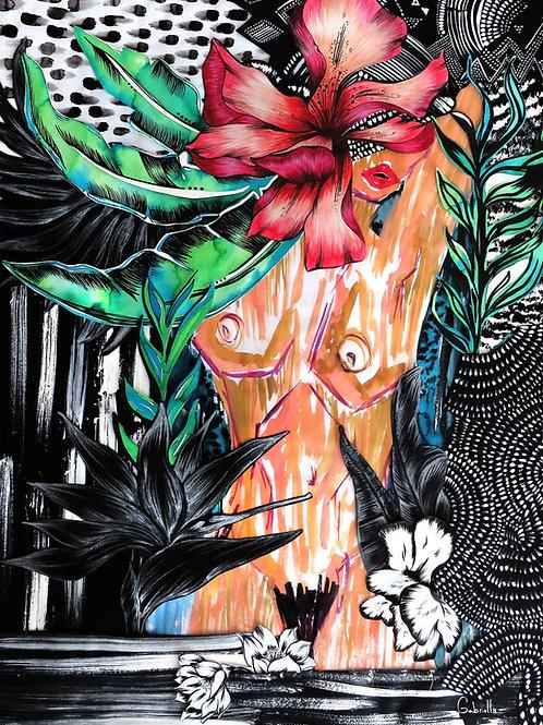 Jungle Gal Illustration