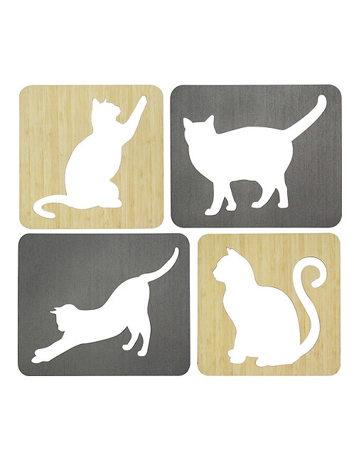 Cats - Frames (set of 4)