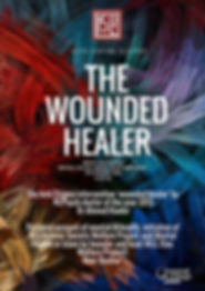 """Image of a """"The Wounded Healer"""" poster"""