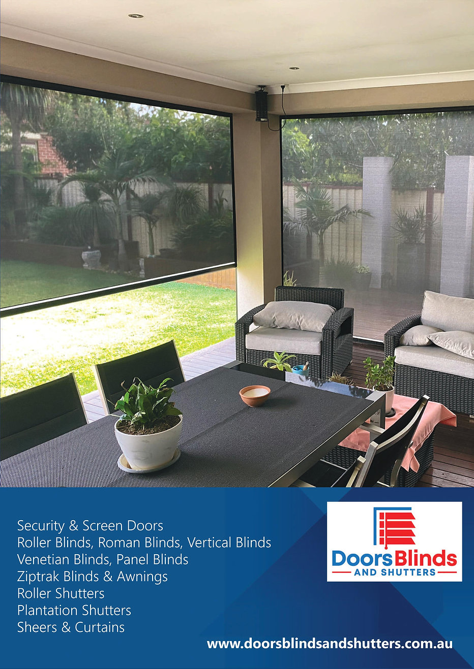 Doors Blinds and Shutters Brochure
