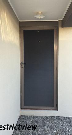 Restrictaview Security Door
