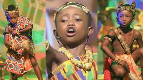 Nana AK, 7-year-old poet and historian, wins Talented Kids season.